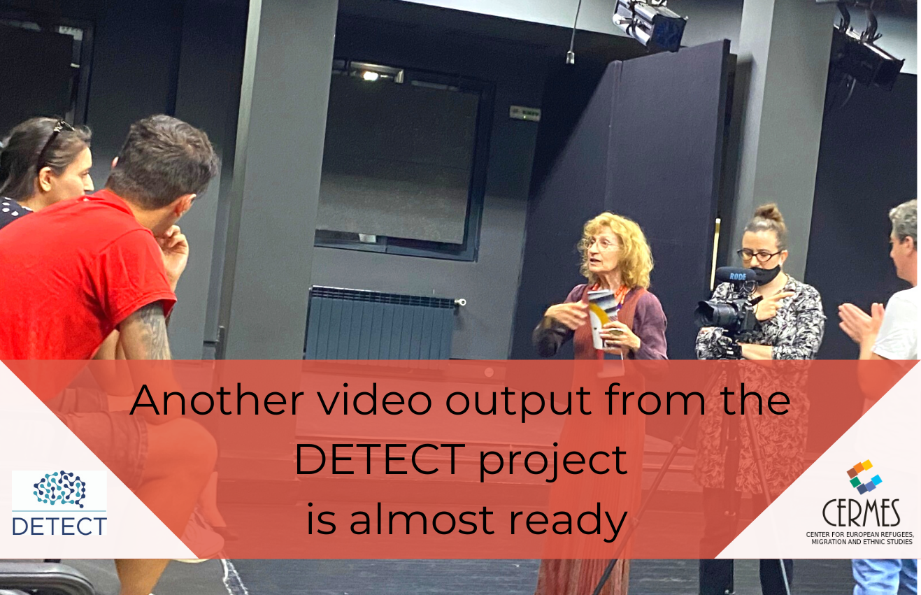 Another video output from the DETECT project is almost ready