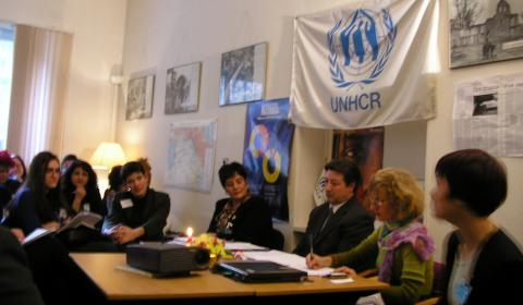 Partnership with UNHCR: Meeting in Sofia